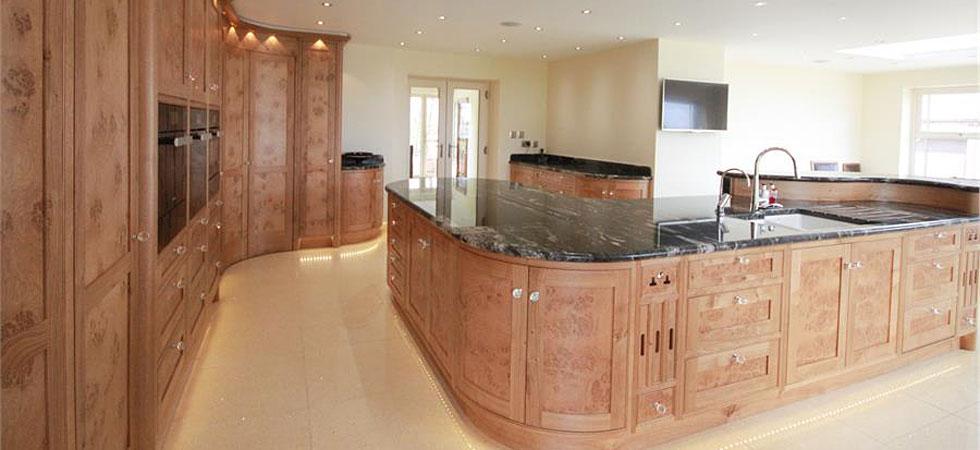 Bennett s of nottingham bespoke kitchens bedrooms and fine furniture for Bespoke kitchen design nottingham