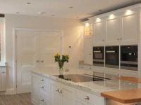 Stunning inframe painted shaker kitchen with large island.
